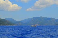 Opinión del mar Marmaris Turquía Fotografía de archivo libre de regalías