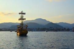 Opinión del mar Marmaris Turquía Fotos de archivo