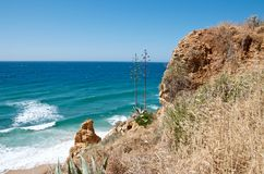 Opinión del mar sobre un día soleado Imágenes de archivo libres de regalías