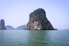 opinión del mar, yee de la cacerola, punzada-nga, Tailandia Imagen de archivo libre de regalías