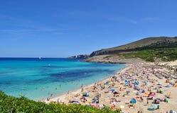 Opinión del mesquida de Cala sobre el majorca Balearic Island en España Foto de archivo