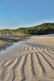 Opinión del modelo de la arena de la playa Imagen de archivo libre de regalías