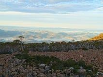 Opinión del Mt Wellington Imagen de archivo libre de regalías