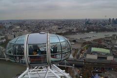 Opinión del ojo de Londres foto de archivo libre de regalías