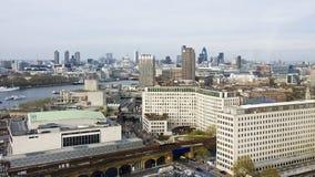 Opinión del ordinario de Londres imagenes de archivo