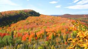 Opinión del otoño fotos de archivo