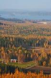 Opinión del otoño Foto de archivo libre de regalías