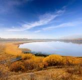 Opinión del otoño del lago Imagen de archivo
