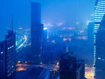 Opinión del pájaro en Nanchang China. Imagenes de archivo