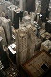 Opinión del pájaro-ojo de Chicago fotos de archivo libres de regalías