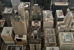 Opinión del pájaro-ojo de Chicago imagen de archivo