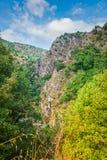 Opinión del país en las montañas europeas Imagen de archivo libre de regalías