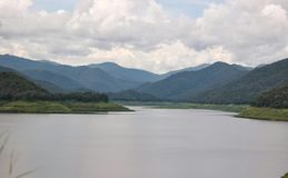 Opinión del paisaje Foto de archivo libre de regalías