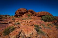 Opinión del paisaje de Australia interior Fotografía de archivo