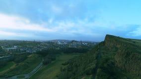 Opinión del paisaje de Edimburgo foto de archivo libre de regalías