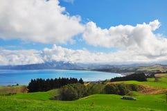 Opinión del paisaje de Kaikoura Fotos de archivo libres de regalías