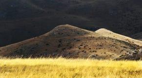 Opinión del paisaje de la montaña de Bistra Imágenes de archivo libres de regalías