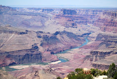 Opinión del paisaje del día soleado del parque nacional de Grand Canyon, Arizona, los E.E.U.U. fotos de archivo