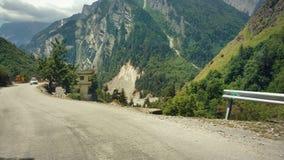Opinión del paisaje del uttrakhand Imagenes de archivo