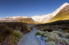 Opinión del paisaje en el cocinero National Park del Mt Imagenes de archivo