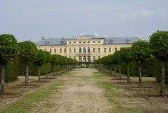 Opinión del palacio de Rundale Imagen de archivo
