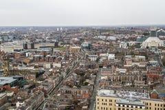 Opinión del panorama de Liverpool Imágenes de archivo libres de regalías
