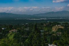 Opinión del panorama del país fotos de archivo