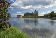 Opinión del parque en Kalmar Fotos de archivo