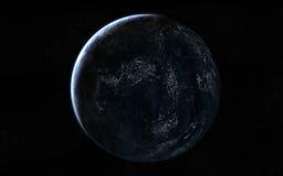 Opinión del planeta imagen de archivo libre de regalías