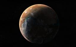 Opinión del planeta Foto de archivo
