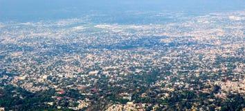 Opinión del Port-au-Prince Fotos de archivo
