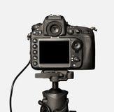 Opinión del primer de la cámara digital fotos de archivo libres de regalías