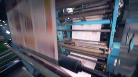 Opinión del primer de un proceso de impresión del periódico