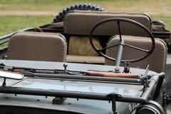 Jeep militar histórico Imagenes de archivo