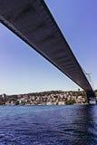 Opinión del puente de Bosphorus Fotos de archivo libres de regalías