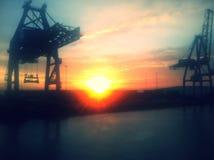Opinión del puerto Fotos de archivo libres de regalías