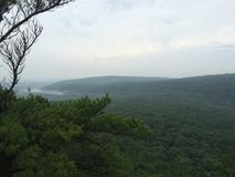Opinión del puesto de observación en el lago Wisconsin devils Fotos de archivo