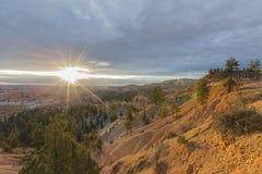 Opinión del punto de Bryce Canyon National Park Sunrise Foto de archivo