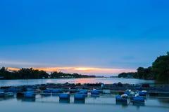 Opinión del río Foto de archivo libre de regalías