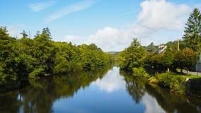 Opinión del río Imágenes de archivo libres de regalías