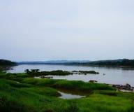 Opinión del río fotografía de archivo libre de regalías