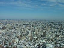 Opinión del rascacielos de Tokio Fotos de archivo libres de regalías