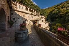 Opinión del retratamiento de Francis Hermitage del santo imagen de archivo libre de regalías