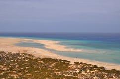Opinión del siland de Fuerteventura Imagen de archivo