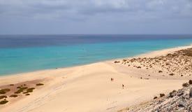 Opinión del siland de Fuerteventura Imágenes de archivo libres de regalías