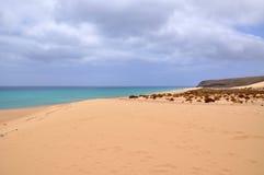 Opinión del siland de Fuerteventura Imagen de archivo libre de regalías