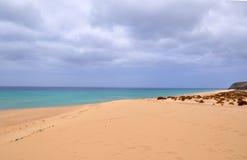 Opinión del siland de Fuerteventura Foto de archivo