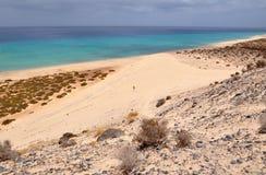 Opinión del siland de Fuerteventura Foto de archivo libre de regalías