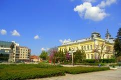 Opinión del suaqre de Silistra, Bulgaria Fotos de archivo libres de regalías