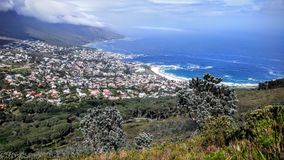 Opinión del sur de Cape Town Imagenes de archivo